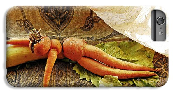 Reclining Nude Carrot IPhone 6 Plus Case by Sarah Loft