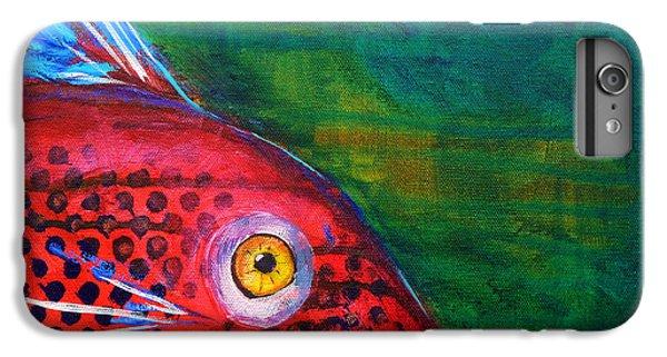 Red Fish IPhone 6 Plus Case by Nancy Merkle