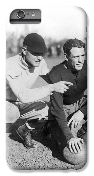 Red Grange And His Coach IPhone 6 Plus Case by Underwood Archives