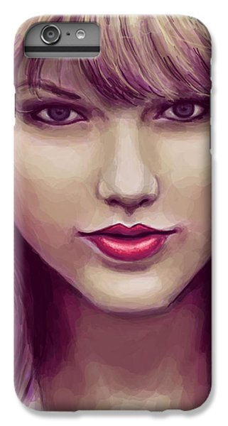 Red IPhone 6 Plus Case by Kendra Tharaldsen-Franklin