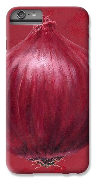 Red Onion IPhone 6 Plus Case by Brian James