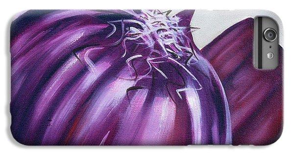 Red Onion IPhone 6 Plus Case by Ilse Kleyn