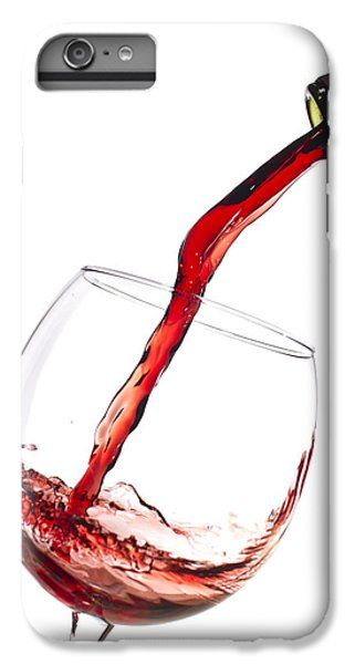 Red Wine Pouring Into Wineglass Splash IPhone 6 Plus Case by Dustin K Ryan