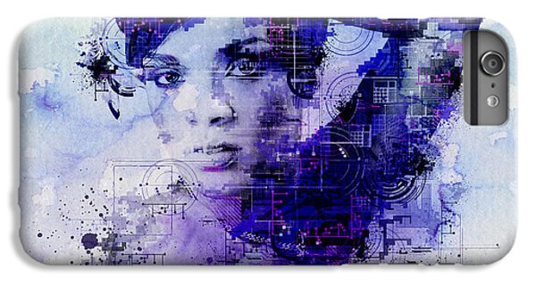 Rihanna 2 IPhone 6 Plus Case by Bekim Art