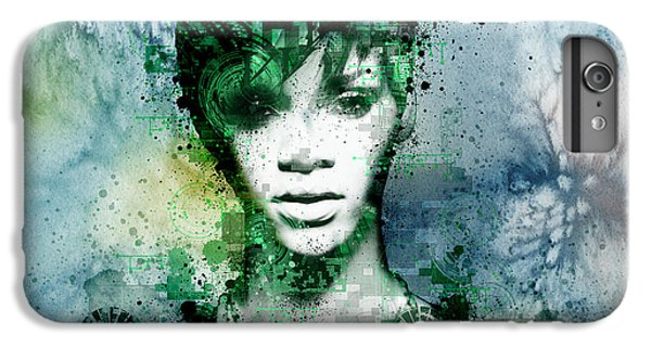 Rihanna 4 IPhone 6 Plus Case by Bekim Art