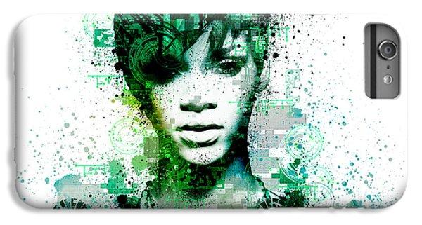 Rihanna 5 IPhone 6 Plus Case by Bekim Art