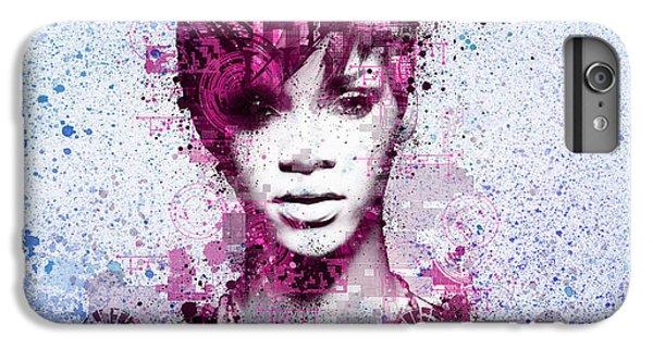 Rihanna 8 IPhone 6 Plus Case by Bekim Art