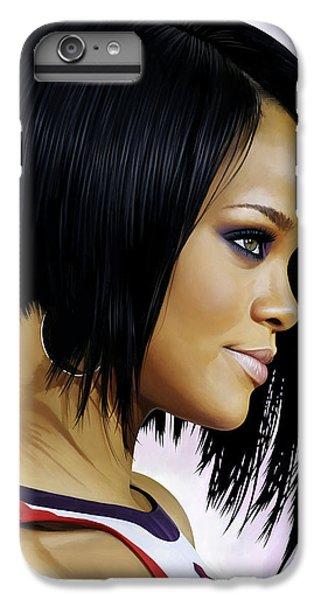 Rihanna Artwork IPhone 6 Plus Case by Sheraz A