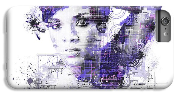 Rihanna IPhone 6 Plus Case by Bekim Art