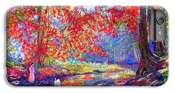 River Of Life, Colors Of Fall IPhone 6 Plus Case by Jane Small