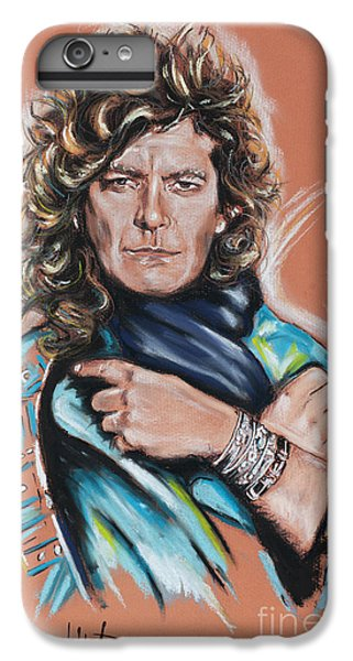 Robert Plant IPhone 6 Plus Case by Melanie D