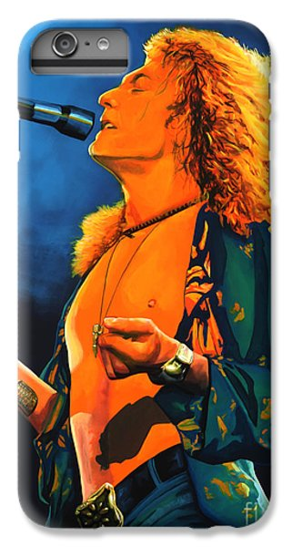 Robert Plant IPhone 6 Plus Case by Paul Meijering