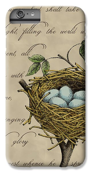 Robin's Nest IPhone 6 Plus Case by Christy Beckwith