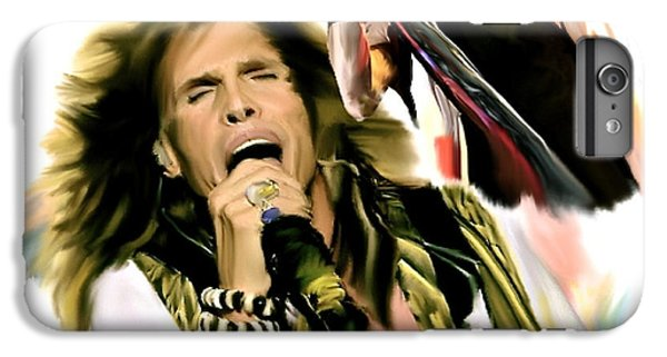 Rocks Gothic Lion II  Steven Tyler IPhone 6 Plus Case by Iconic Images Art Gallery David Pucciarelli