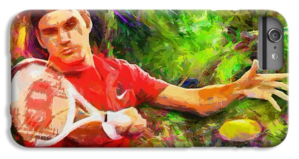 Roger Federer IPhone 6 Plus Case by RochVanh