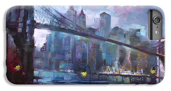 Romance By East River II IPhone 6 Plus Case by Ylli Haruni