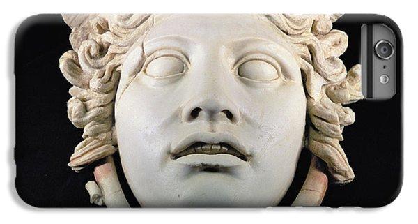 Rondanini Medusa, Copy Of A 5th Century Bc Greek Marble Original, Roman Plaster IPhone 6 Plus Case by .
