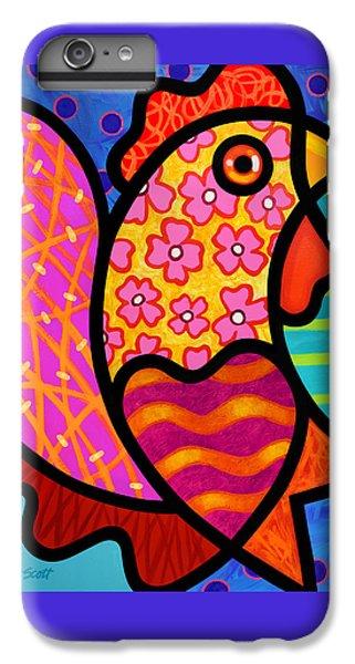 Rooster Dance IPhone 6 Plus Case by Steven Scott