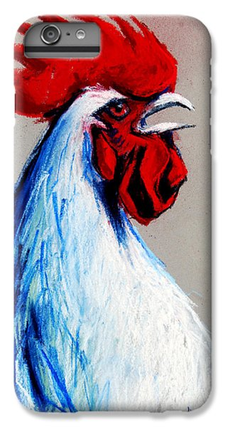 Rooster Head IPhone 6 Plus Case by Mona Edulesco