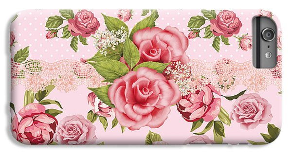 Rose Elegance IPhone 6 Plus Case by Debra  Miller