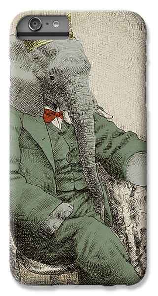 Royal Portrait IPhone 6 Plus Case by Eric Fan