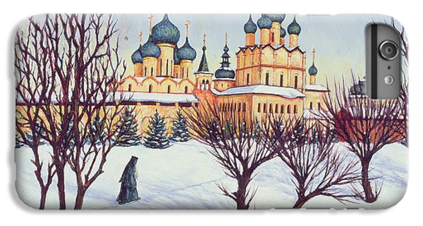 Russian Winter IPhone 6 Plus Case by Tilly Willis