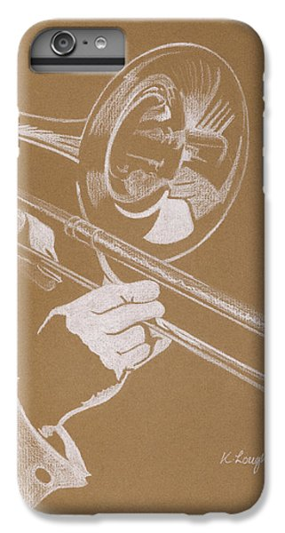 Sacred Trombone IPhone 6 Plus Case by Karen  Loughridge KLArt