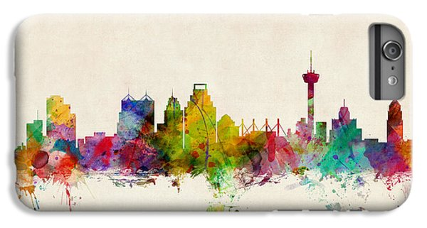 San Antonio Texas Skyline IPhone 6 Plus Case by Michael Tompsett