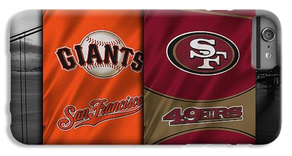 San Francisco Sports Teams IPhone 6 Plus Case by Joe Hamilton