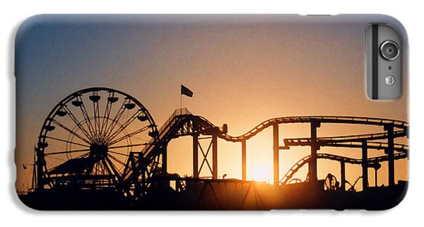 Santa Monica Pier IPhone 6 Plus Case by Art Block Collections