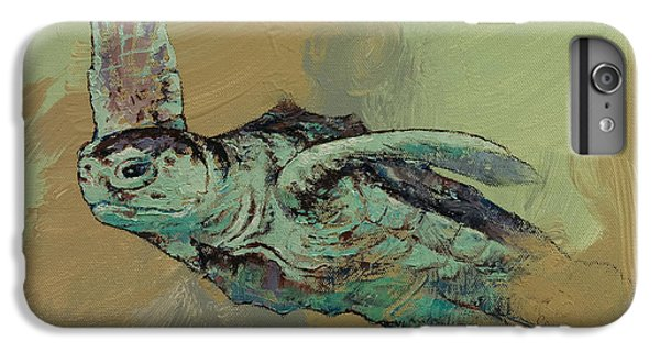 Sea Turtle IPhone 6 Plus Case by Michael Creese