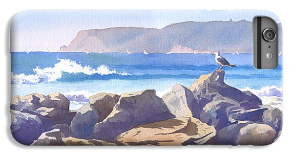 Seagull And Point Loma IPhone 6 Plus Case by Mary Helmreich