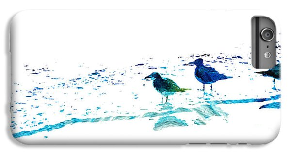 Seagull Art - On The Shore - By Sharon Cummings IPhone 6 Plus Case by Sharon Cummings