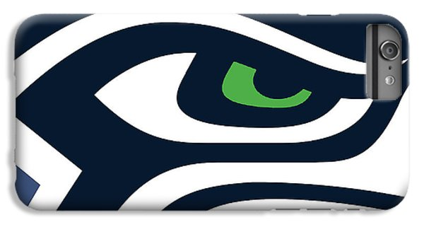 Seattle Seahawks IPhone 6 Plus Case by Tony Rubino
