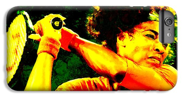 Serena Williams In A Zone IPhone 6 Plus Case by Brian Reaves
