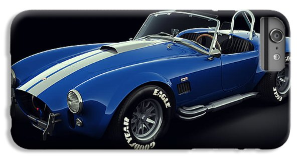 Shelby Cobra 427 - Bolt IPhone 6 Plus Case by Marc Orphanos