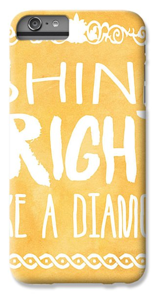 Shine Bright Orange IPhone 6 Plus Case by Pati Photography
