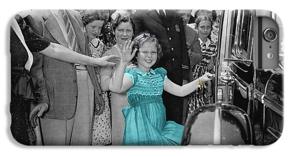 Shirley Temple IPhone 6 Plus Case by Andrew Fare