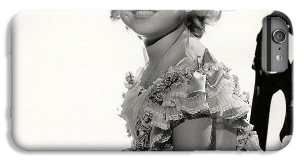 Shirley Temple Portrait IPhone 6 Plus Case by Nomad Art