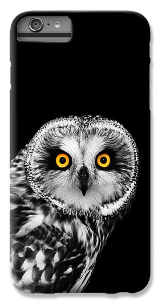 Short-eared Owl IPhone 6 Plus Case by Mark Rogan