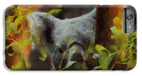Shy Koala IPhone 6 Plus Case by Dan Sproul