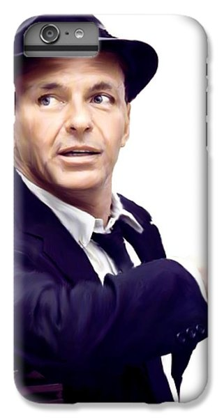 Sinatra.  Frank Sinatra IPhone 6 Plus Case by Iconic Images Art Gallery David Pucciarelli