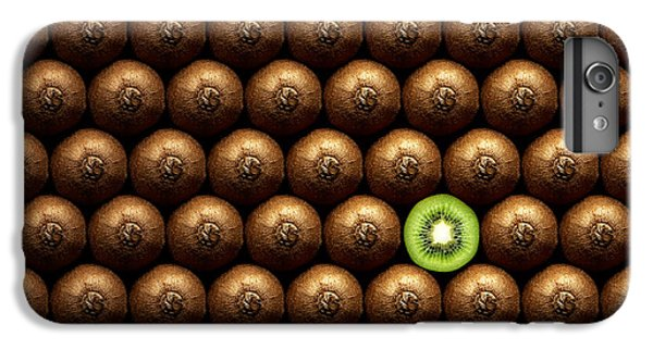 Sliced Kiwi Between Group IPhone 6 Plus Case by Johan Swanepoel