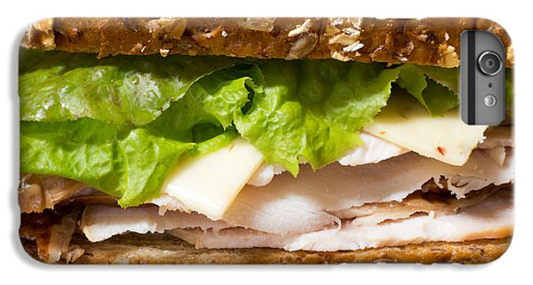 Smoked Turkey Sandwich IPhone 6 Plus Case by Edward Fielding