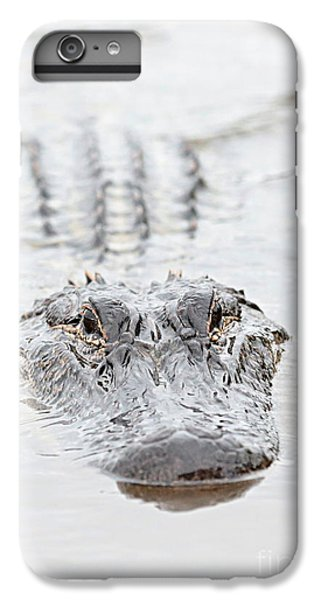 Sneaky Swamp Gator IPhone 6 Plus Case by Carol Groenen