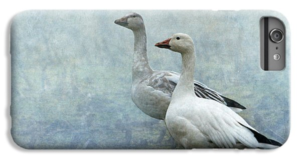 Snow Geese IPhone 6 Plus Case by Angie Vogel