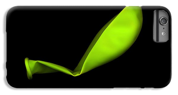 Square Lime Green Balloon IPhone 6 Plus Case by Julian Cook