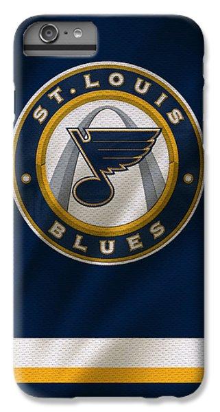 St Louis Blues Uniform IPhone 6 Plus Case by Joe Hamilton
