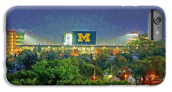 Stadium At Night IPhone 6 Plus Case by John Farr