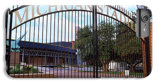 Stadium Of A University, Michigan IPhone 6 Plus Case by Panoramic Images